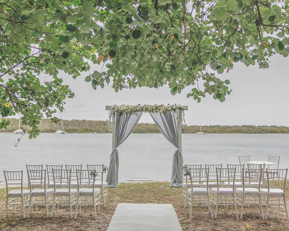 River Dream Ceremony Package - Splash Events, Noosa & Sunshine Coast