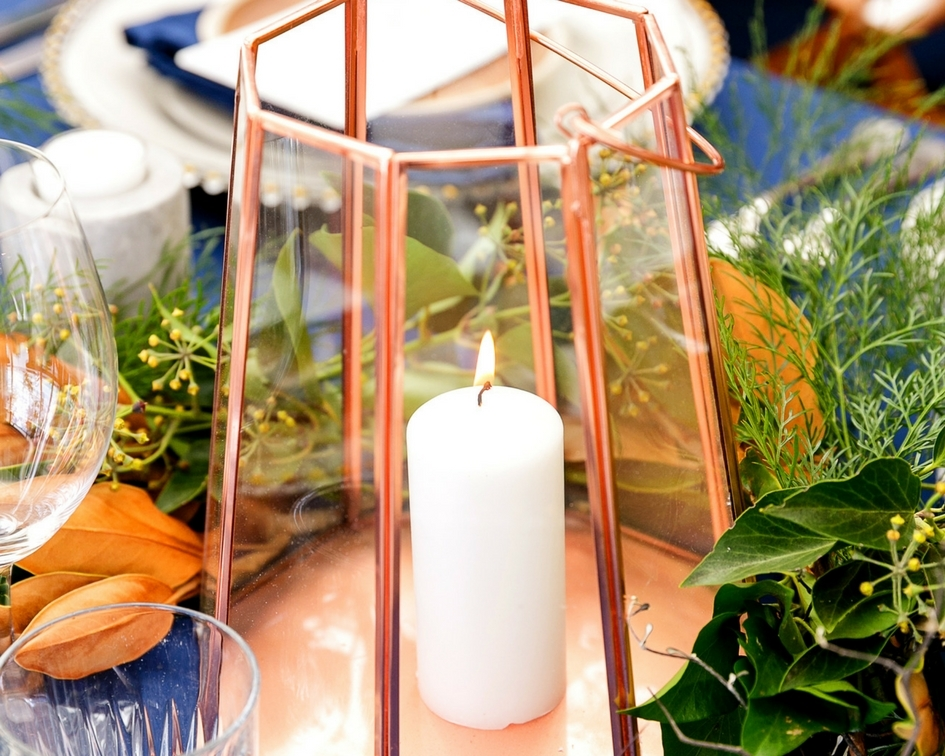 Octagonal lantern - Splash Events, Noosa & Sunshine Coast