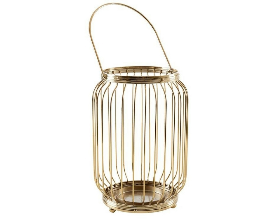 Brass finish lantern - Splash Events, Noosa & Sunshine Coast