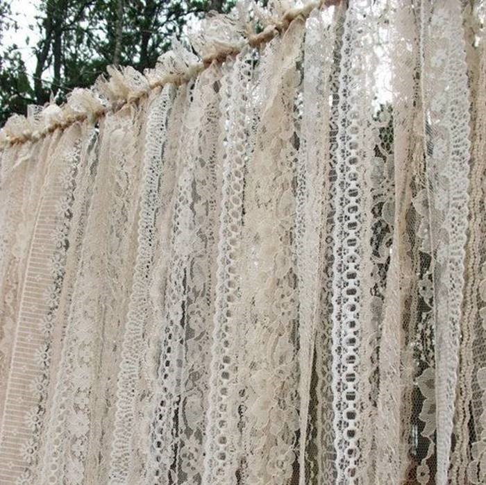 Lace Curtain - Splash Events, Noosa & Sunshine Coast