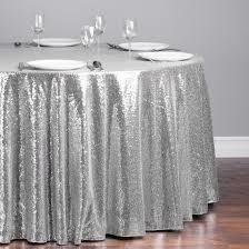 Silver sequin round tablecloth - Splash Events, Noosa & Sunshine Coast