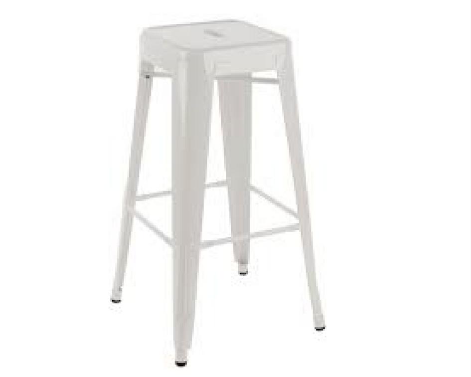 White tolix bar stool - Splash Events, Noosa & Sunshine Coast