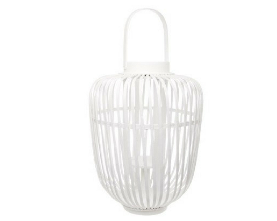 Round cane woven cylinder lantern - Splash Events, Noosa & Sunshine Coast