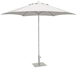 White Aluminium Market umbrella - Splash Events, Noosa & Sunshine Coast