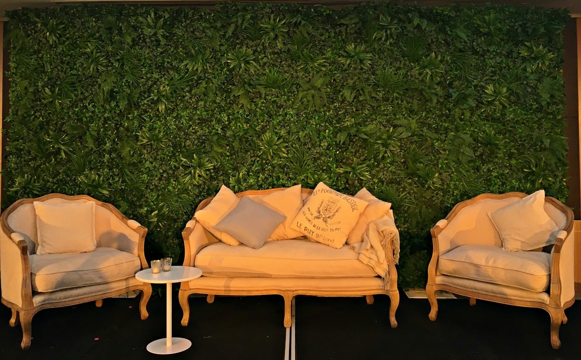 Greenery Wall Backdrop - Splash Events, Noosa & Sunshine Coast