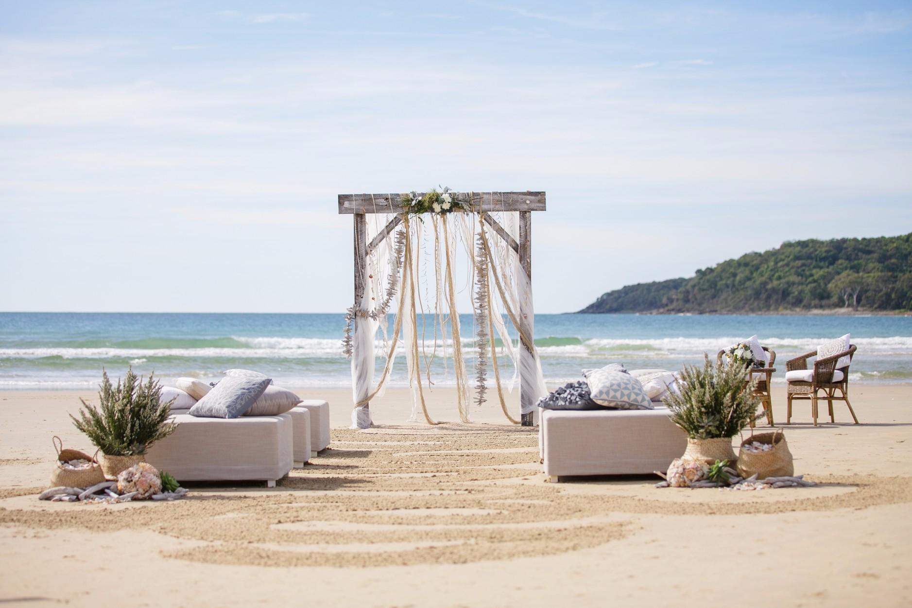 Coastal Drift Ceremony - Splash Events, Noosa & Sunshine Coast