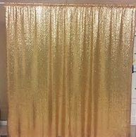 Gold sequin backdrop - Splash Events, Noosa & Sunshine Coast