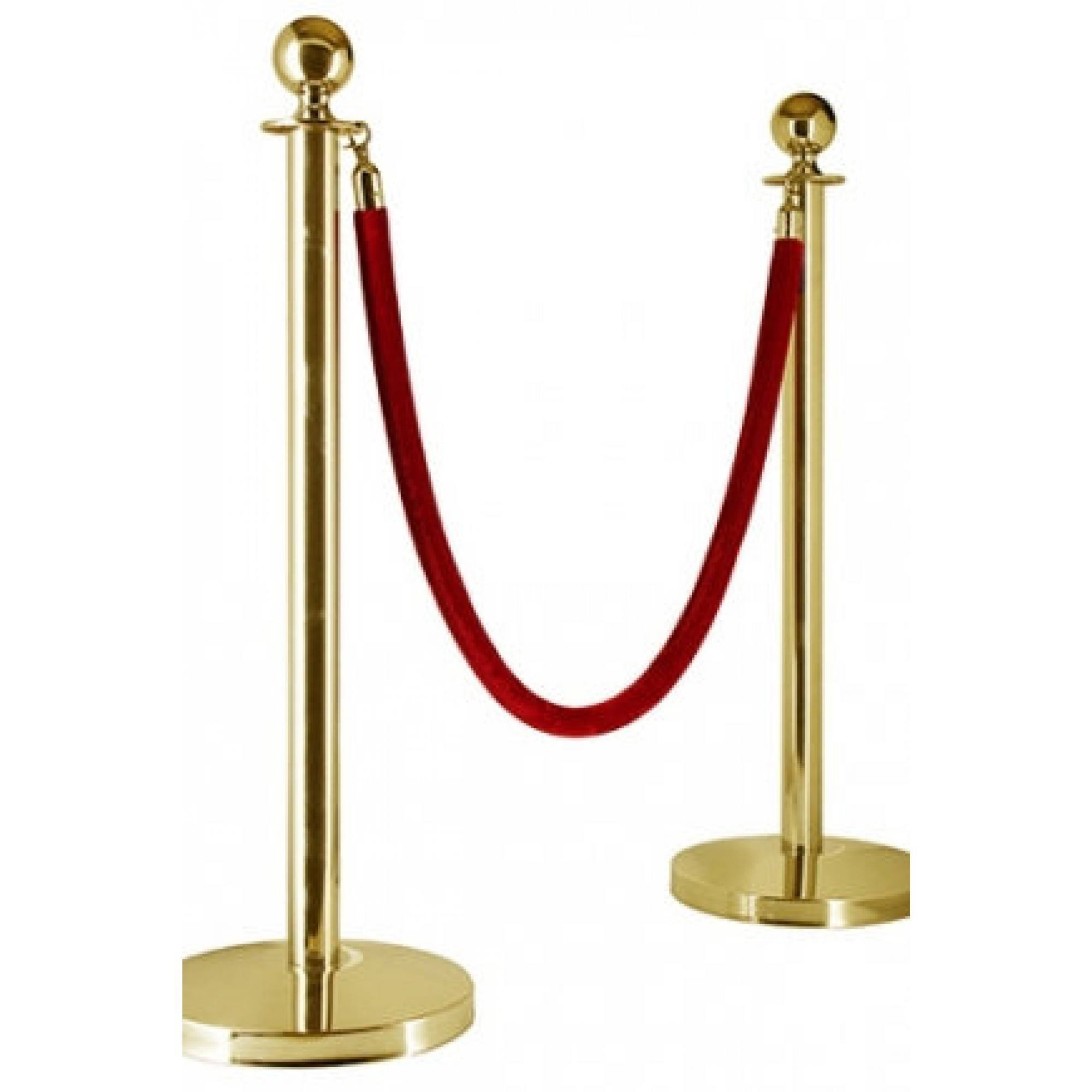 Gold Bollards - Splash Events, Noosa & Sunshine Coast