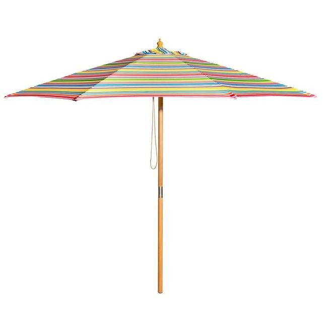 Coloured Market umbrella - Splash Events, Noosa & Sunshine Coast