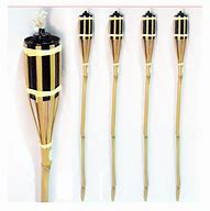 Tiki torches Bamboo - Splash Events, Noosa & Sunshine Coast
