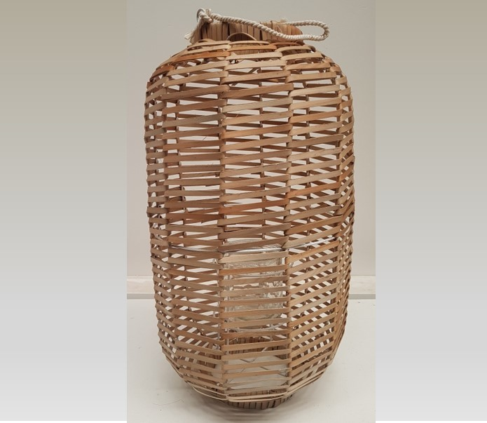 Natural cane lantern - Splash Events, Noosa & Sunshine Coast