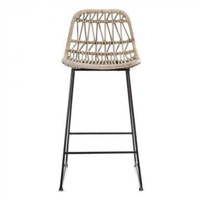 Woven bamboo stool - Splash Events, Noosa & Sunshine Coast