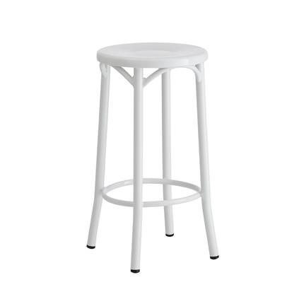 Metal backless bentwood stool - Splash Events, Noosa & Sunshine Coast