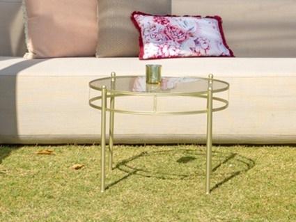 Gold Coffee Table - Splash Events, Noosa & Sunshine Coast