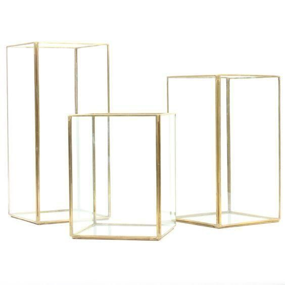 Gold frame lantern set - Splash Events, Noosa & Sunshine Coast