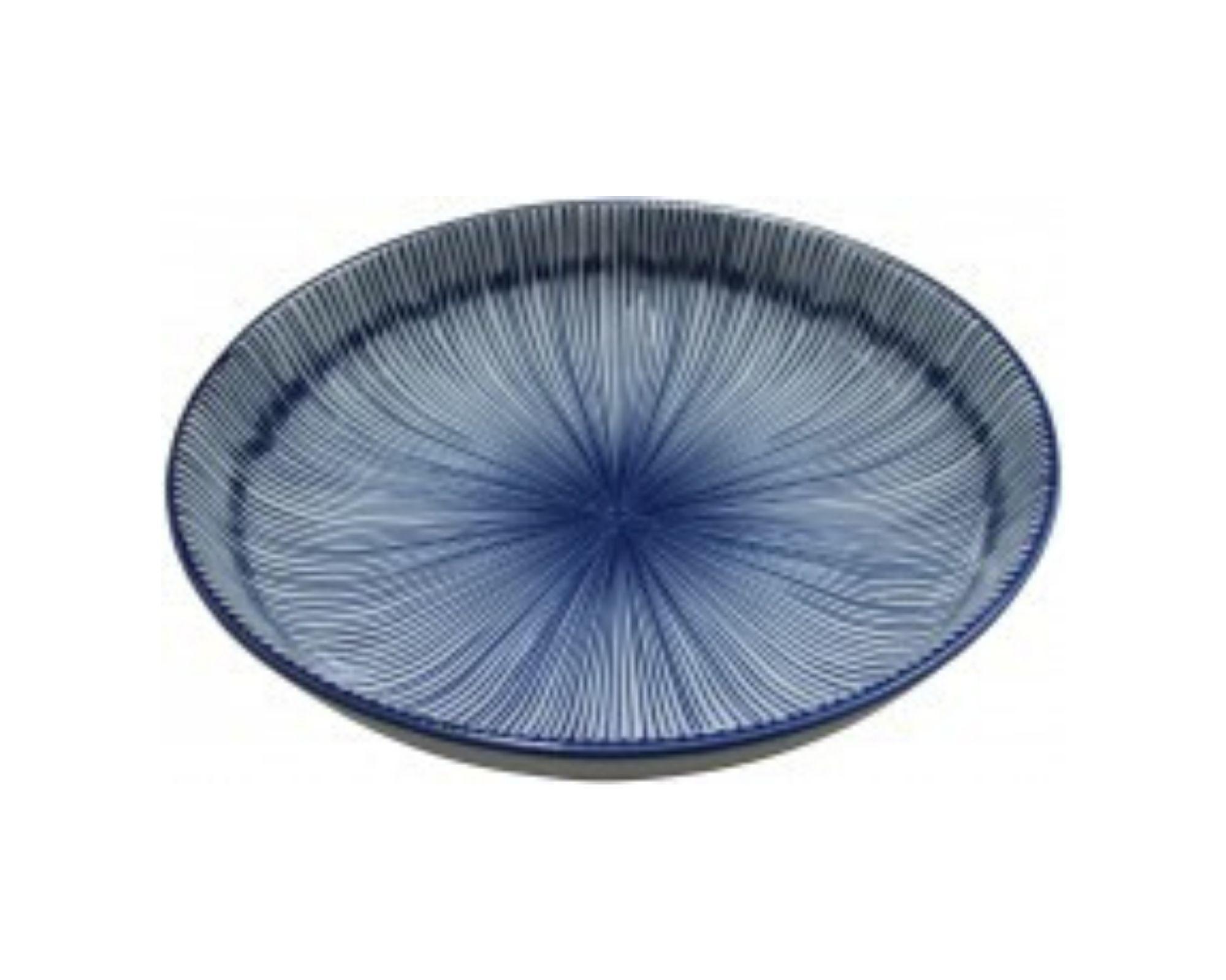 Jappa Striped Entree Plate - Splash Events, Noosa & Sunshine Coast