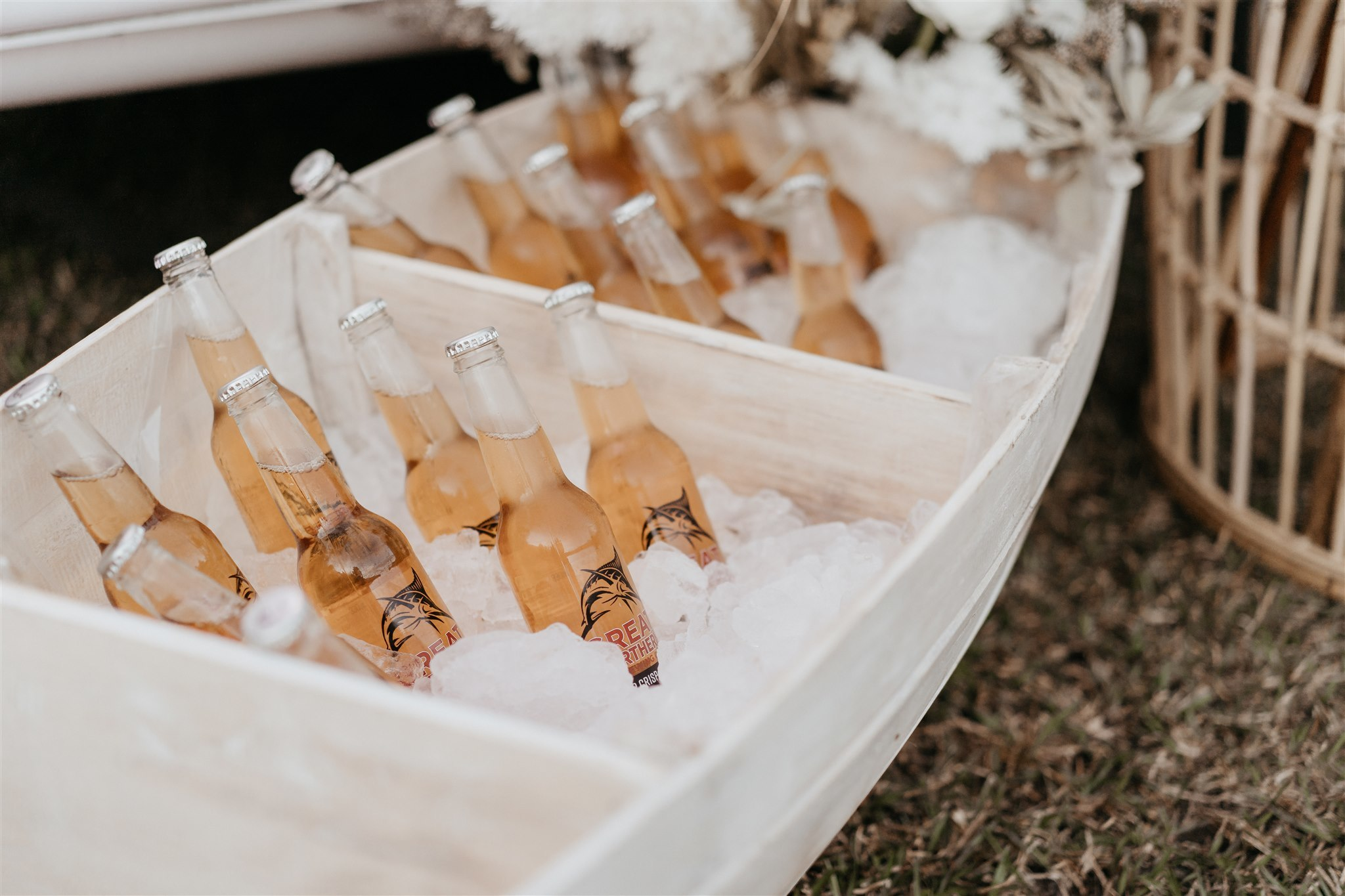 Timber Beverage Boat - Splash Events, Noosa & Sunshine Coast