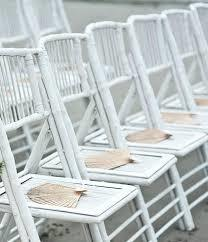White bamboo chair - Splash Events, Noosa & Sunshine Coast