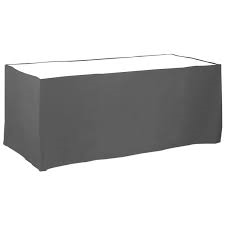 Black flat table skirting - Splash Events, Noosa & Sunshine Coast