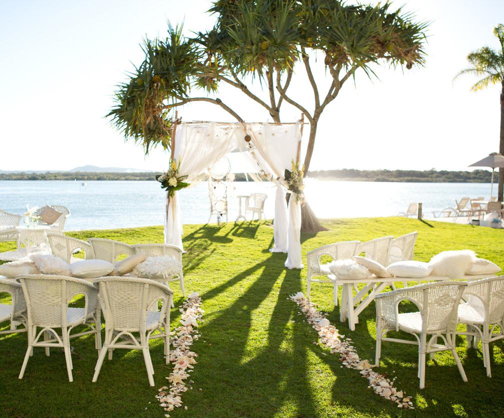 Coastal Boho Ceremony - Splash Events, Noosa & Sunshine Coast