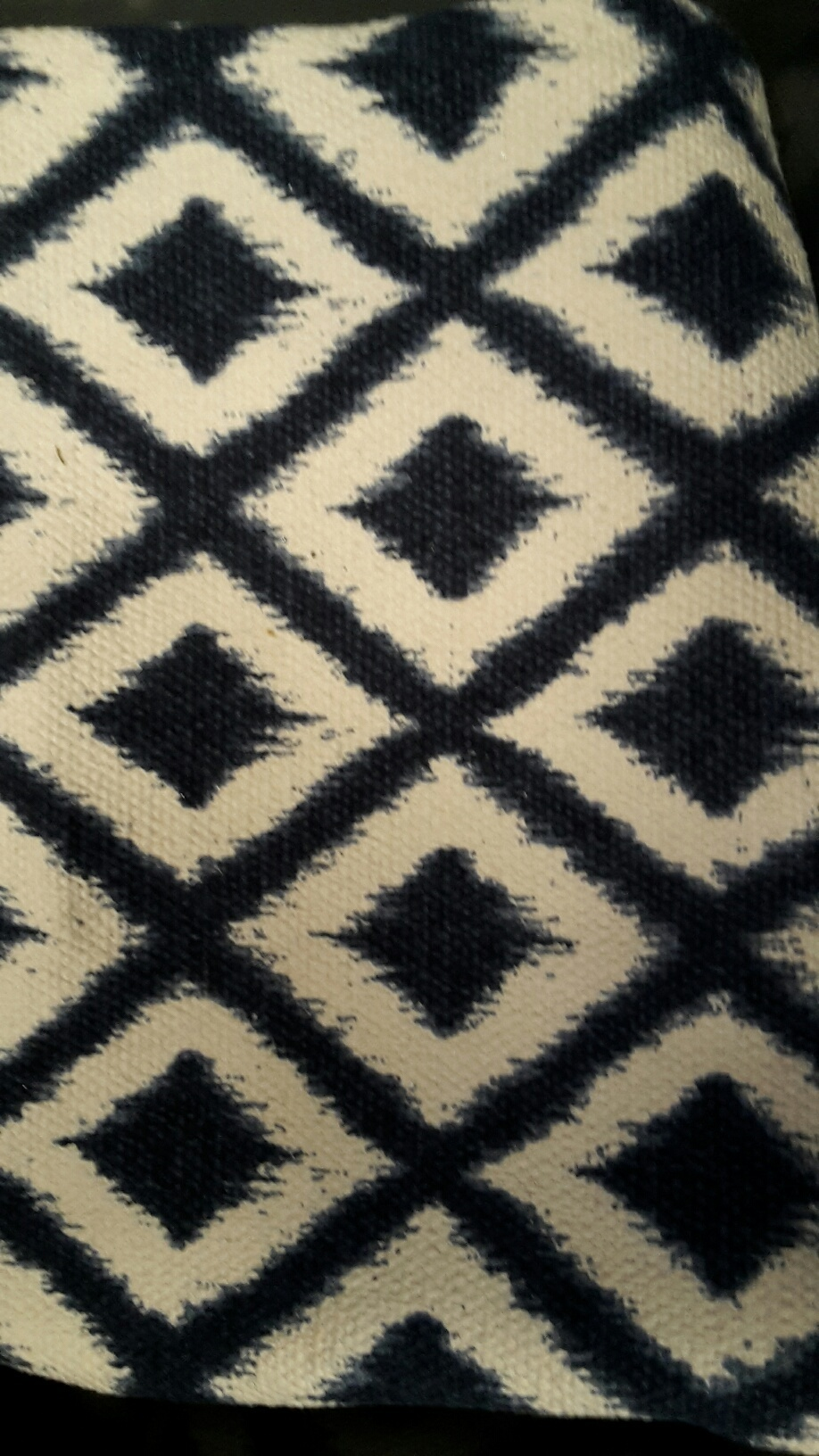 Navy and white aztec floor rug - Splash Events, Noosa & Sunshine Coast