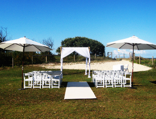 Shade Ceremony Package - Splash Events, Noosa & Sunshine Coast
