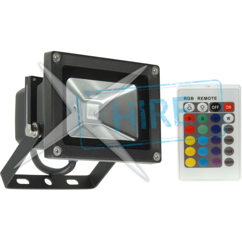 10W RGB LED Flood IP65