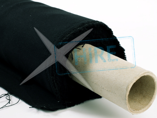 Roll of Casement NDFR fabric 100m x 1.52m - BLACK