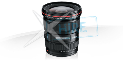 Canon - 17-40mm EF lens