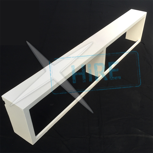 Fashion Show Bench (painted white)