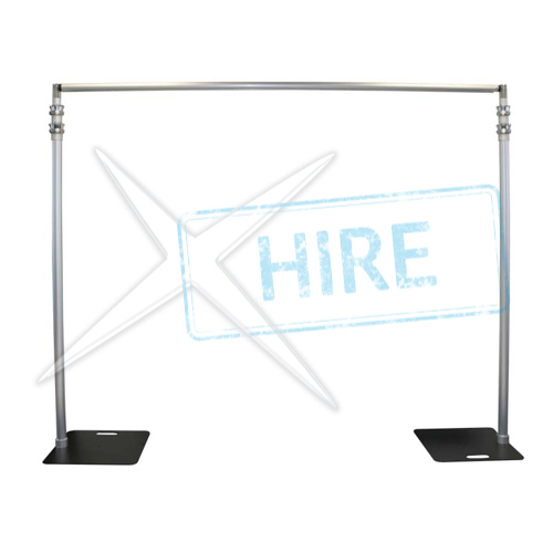 Softscene Horizontal Pole - extends from 7' to 12' wide