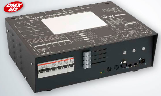 Anytronics - 4-Channel Dimmer with 32/1 In + 4 x 16/1 Out, manual