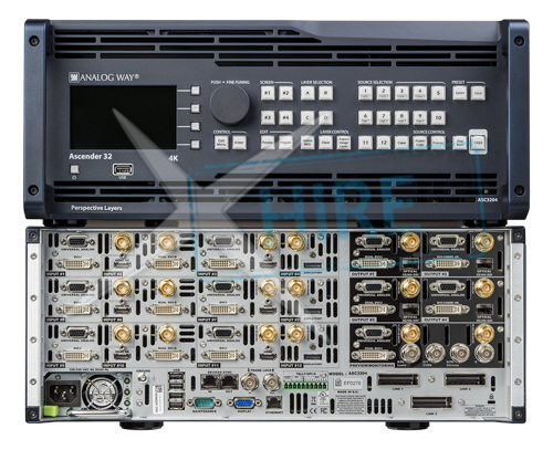 Analog Way - Ascender 32 multi-screen processor and switcher