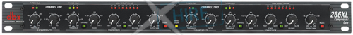 dbx Professional Audio - 266XL Compressor/Gate
