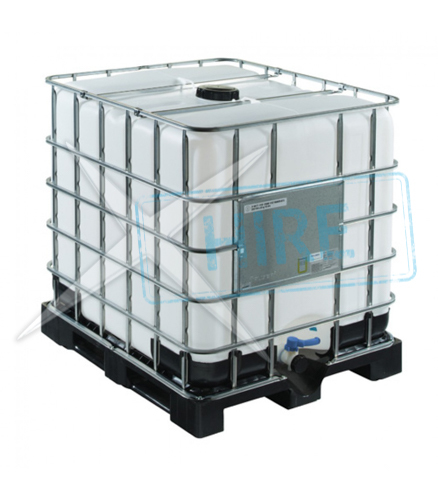 1000 Litre IBC Water Tank