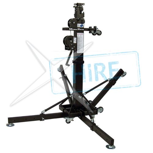 MobilTech Alptek 6500 - Windup Lighting Stand