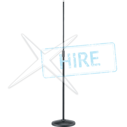 Round Base Straight Microphone Stand