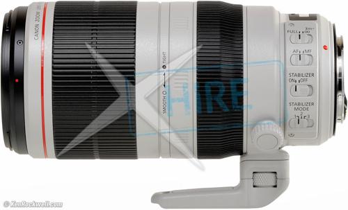 Canon - 100-400mm EF lens