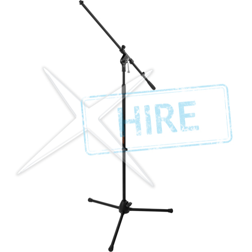 Tall microphone Stand with Boom