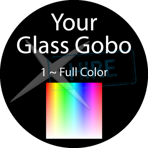 Custom Printed Glass Gobo