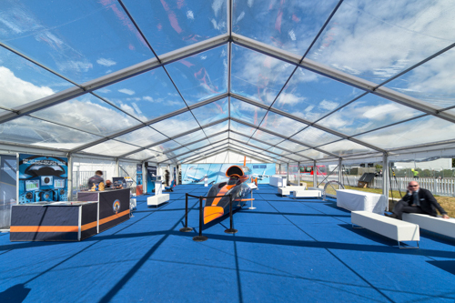 12m x 03m Bay - Clearspan Marquee