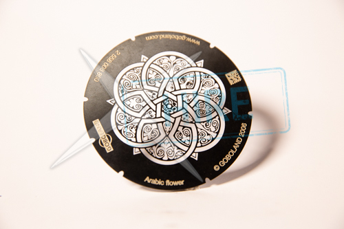 Arabic Flower Gobo for S4 B-size (86mm)