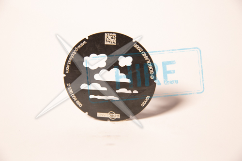 Cloud Gobo for S4 JR M-size (66mm)