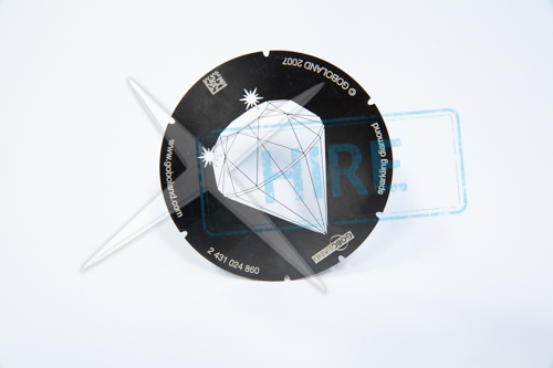 Sparkling Diamond Gobo for S4 B-size (86mm)