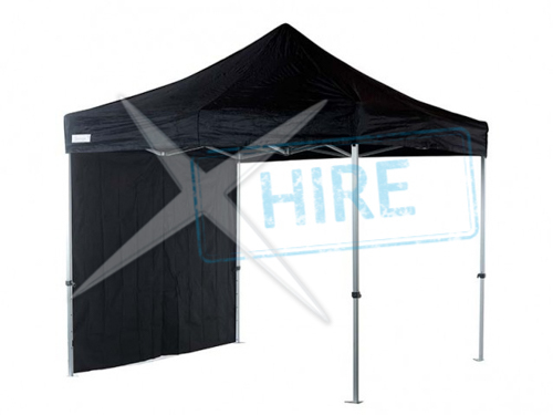 4.5m x 3.5m Gazebo with roof and walls