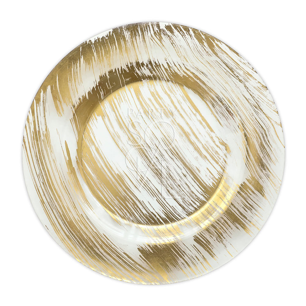 Charger Plate - Gold Brushed 13