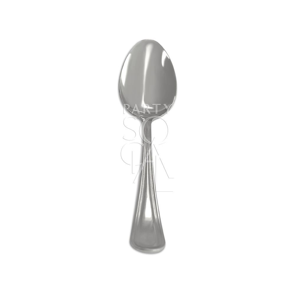 Cutlery Simple Silver Dessert Spoon
