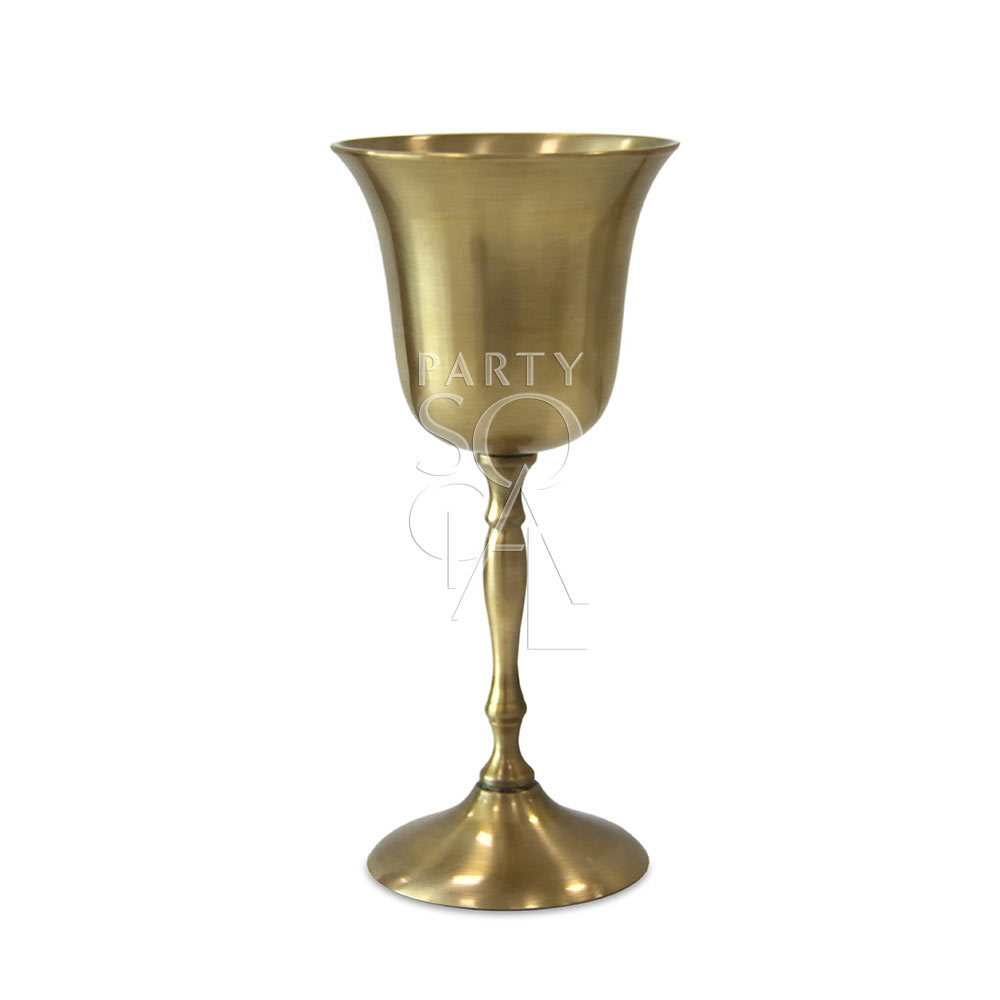 Brass Goblet Small