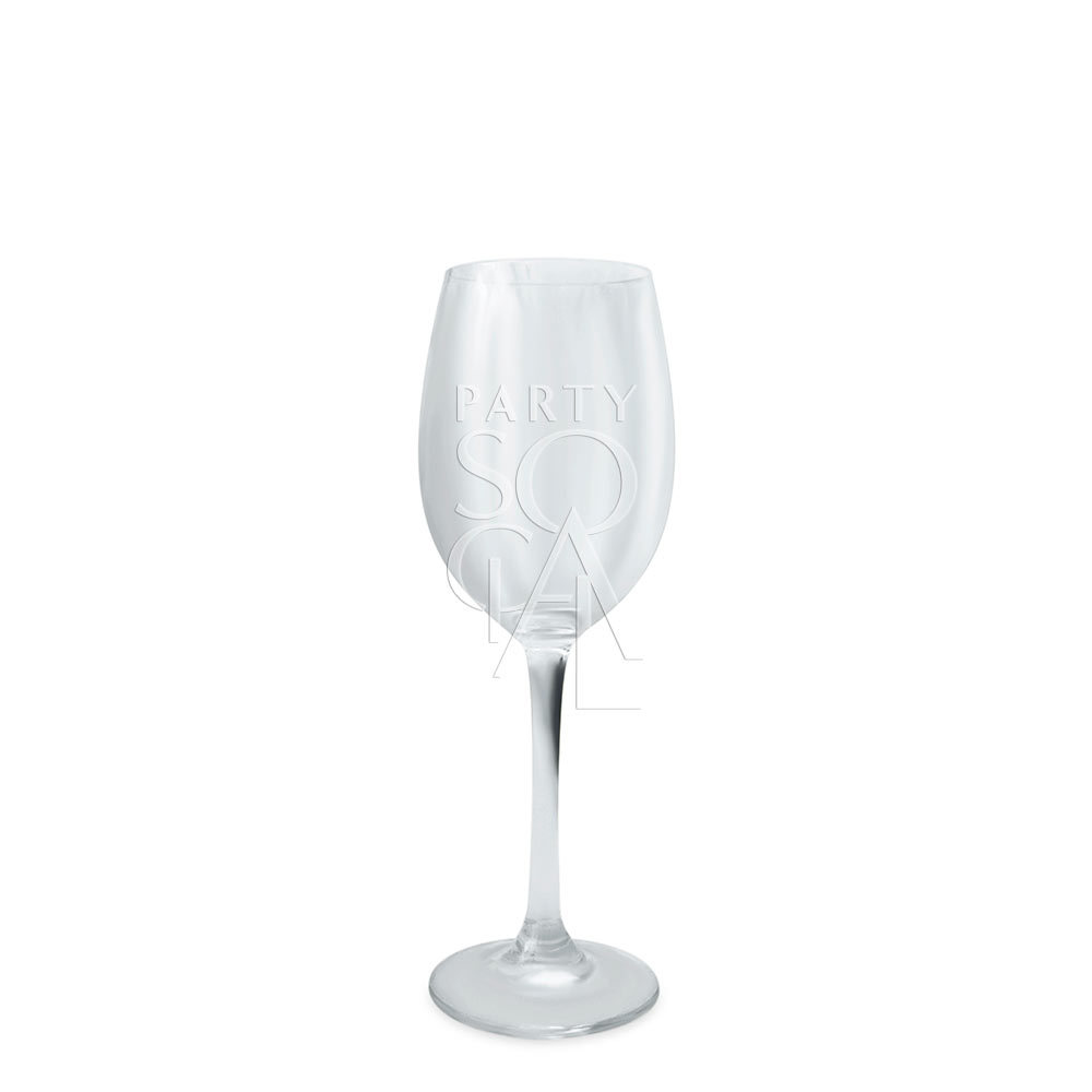 Glass Wine White Small 300ml/10oz