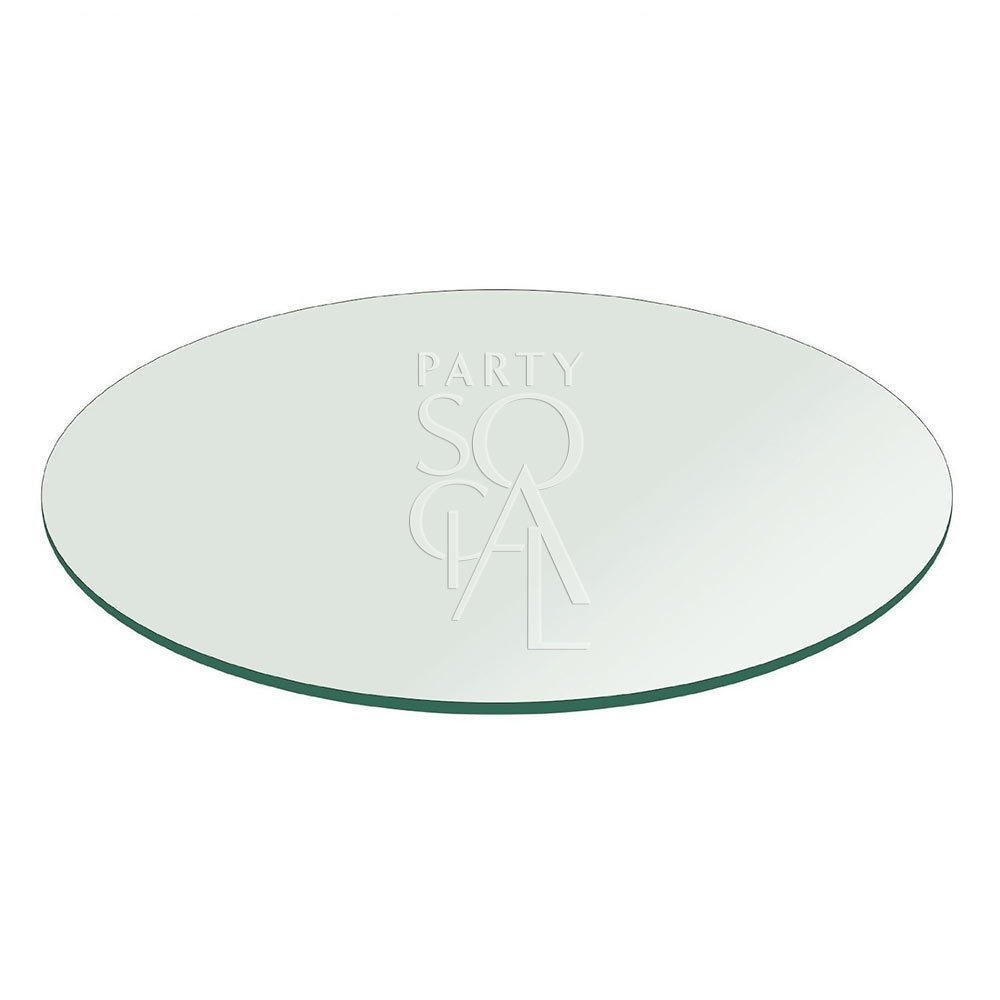 Acrylic Mirrored Tabletop 183 cm round